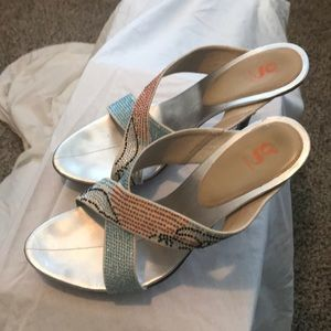 Cole Haan G-Series Sparkly Sandals